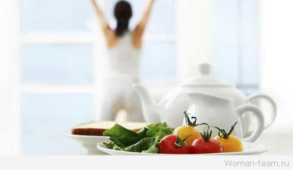 После диеты