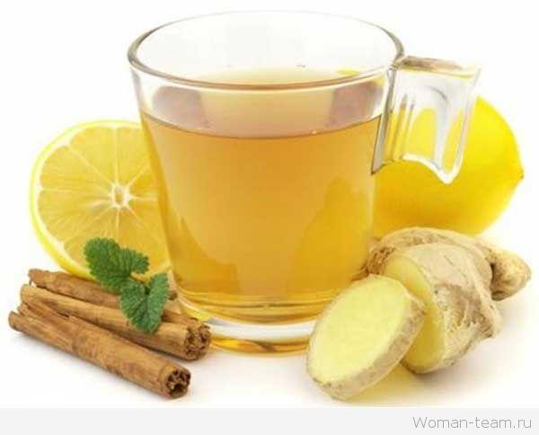 Чай для похудения с имбирем