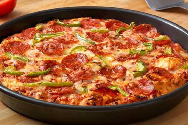 пицца на сковороде за 10 минут в домашних условиях