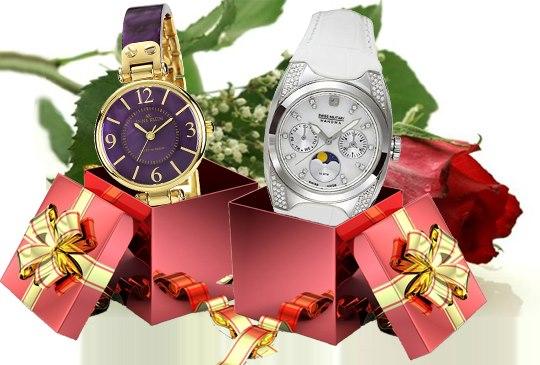Часы на подарок подруге