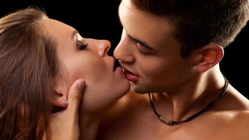 Разновидность поцелуев сексуальный