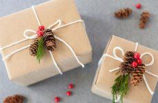 Необычная упаковка для новогодних подарков, шаблоны обёртки для объёмного содержимого и денег