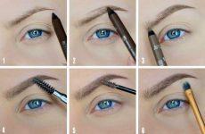 Способы, как правильно нарисовать красивые и идеальные брови в домашних условиях поэтапно