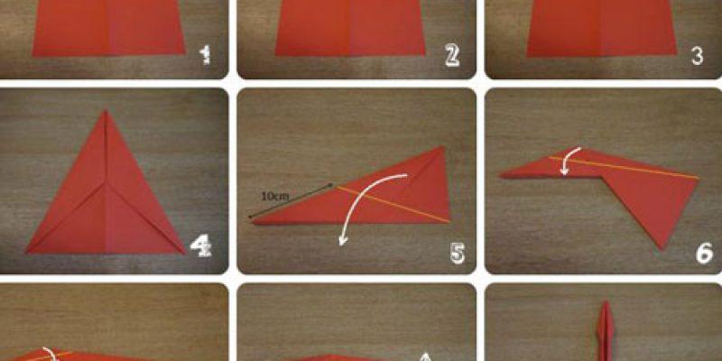 Как сделать бумажный самолетик, который долго летает