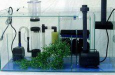 Аквариумные фильтры для очистки воды и грунта