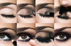 Виды макияжа для карих, зеленых, голубых и серых глаз, техника нанесения, дневной и вечерний
